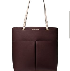 MichaelKors Bedford Large North South Leather Tote